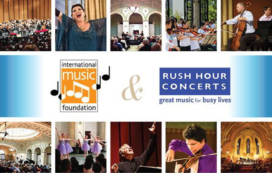 Exciting News from Rush Hour Concerts and International Music Foundation